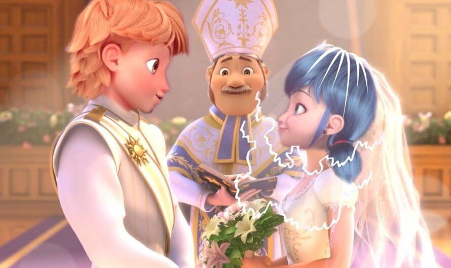 Marinette und Adrien heiraten